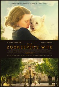 zookeeper's wife poster