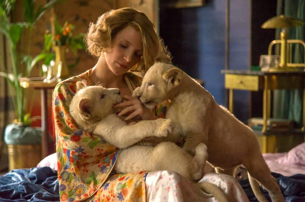 the zookeeper's wife official trailer