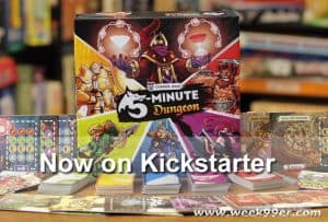 5 Minute Dungeon Launches on Kickstarter Today
