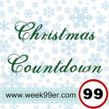 Christmas Countdown Button