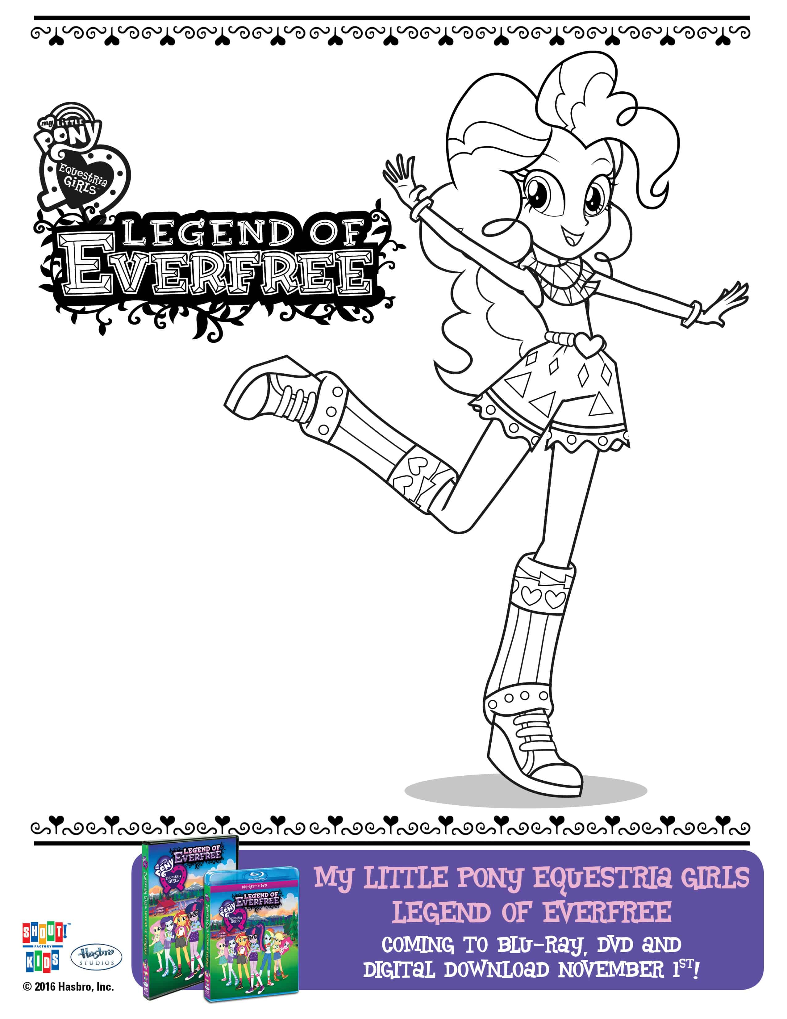 My Little Pony Coloring Pages Hasbro Coloring Pages