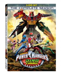 Power Rangers Dino Charge Complete Season Release