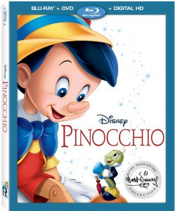 pinocchio signature collection bluray release dates