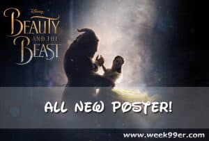 Check out the Stunning New Beauty and the Beast Poster #BeOurGuest #BeautyAndTheBeast