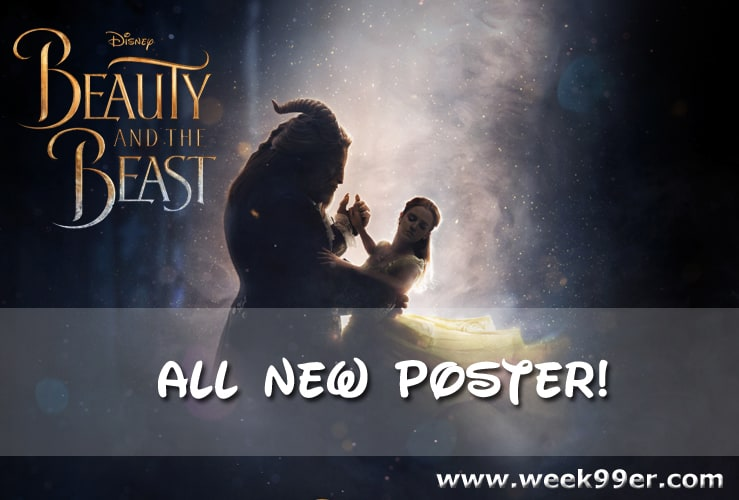 beauty and the beast poster 2016