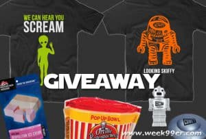 Sci-Fi Swag Bag Giveaway From Comet TV