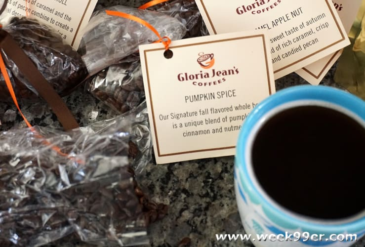 gloria jean's coffee fall flavors review