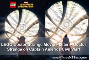 LEGO Doctor Strange Movie Poster + Doctor Strange on Captain America Civil War! #doctorstrange #doctorstrangeevent