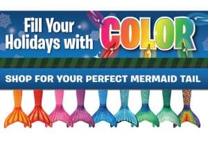Save on Your Own Mermaid Tail this Holiday Season!