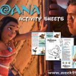 All New Free Moana Activity Sheets #MOANA