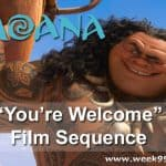 """Watch the """"You're Welcome"""" Sequence from Moana Here! #Moana"""