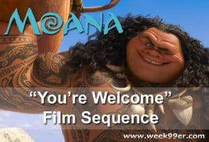 "Watch the ""You're Welcome"" Sequence from Moana Here! #Moana"