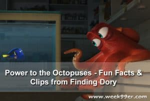 Fun Facts & Clips from Finding Dory's Power to the Octopuses #findingdory #findingdorybluray