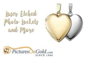 Create Lasting Memories with Laser Etched Jewelry