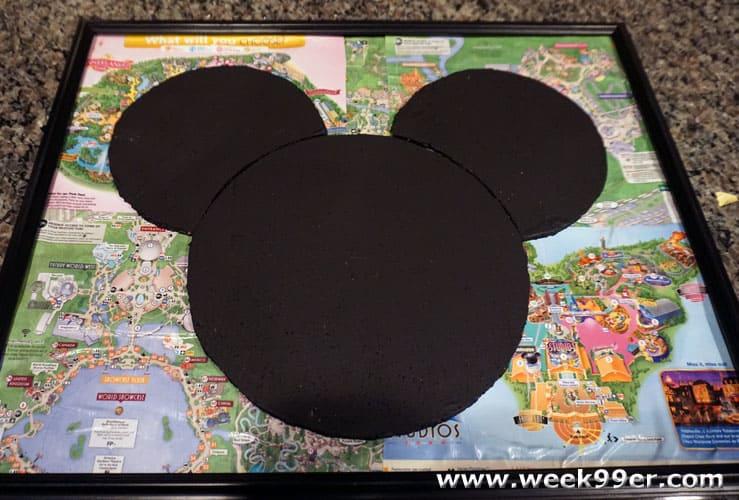 DIY Disney Pin Board Tutorial