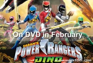 Power Rangers Dino Charge: The Complete Season Coming to DVD in February