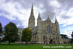 Salisbury Cathedral England