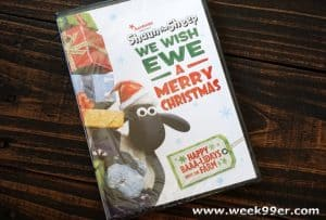 Shaun the Sheep Wish Ewe a Merry Xmas on DVD in time for the Holidays!