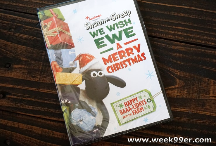 Shaun hte Sheep We Wish Ewe A Merry Christmas Review