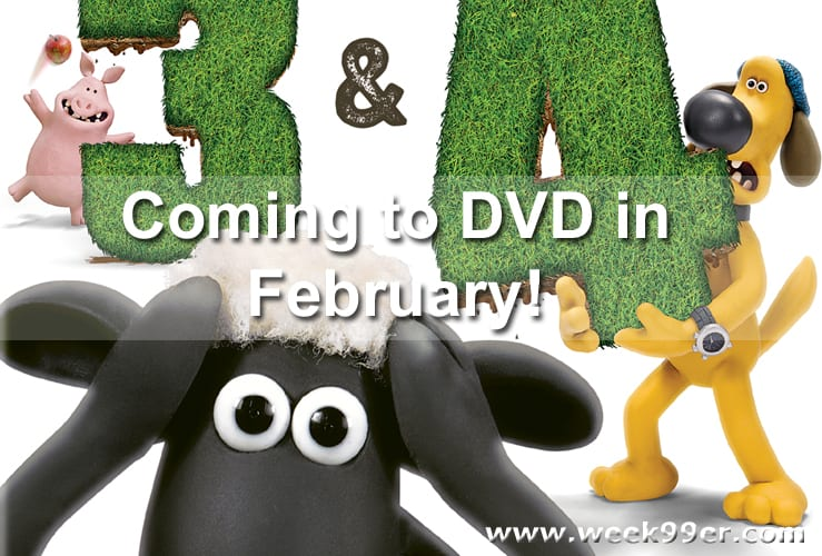 Shaun the Sheep Season 3 & 4 Release