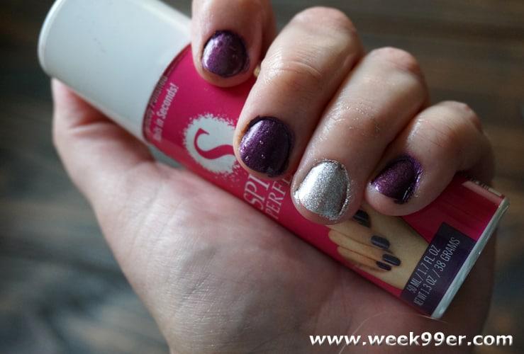 spray perfect nail polish review