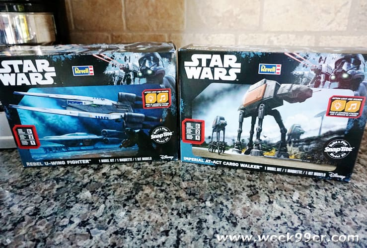 star wars snap tite model review