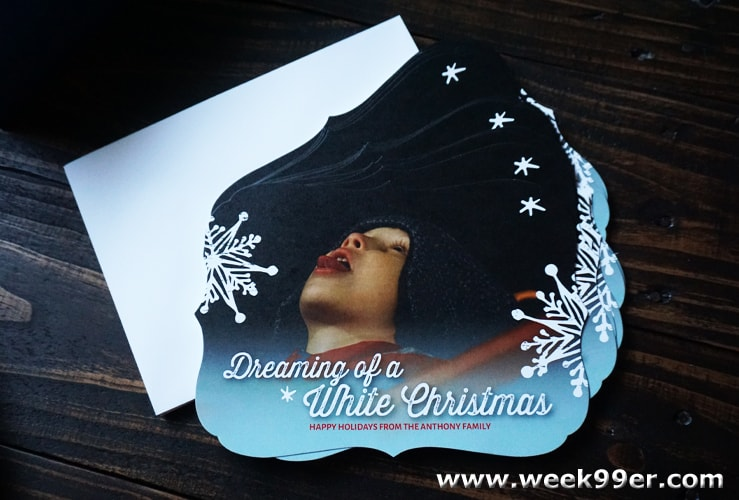 the stationary studio custom christmas card review