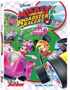 Mickey and The Roadster Racers on DVD