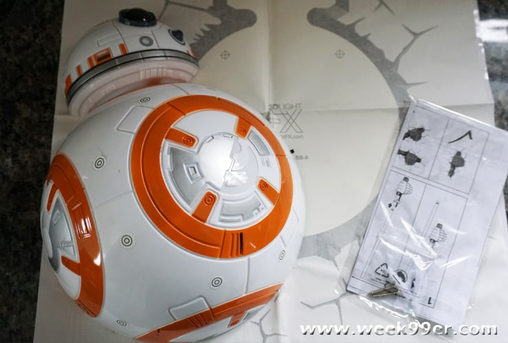 BB-8 Light from 3DLIGHTFX review