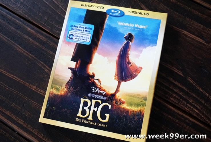 The BFG Blu-ray release