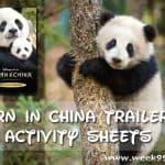 DisneyNature Born in China Trailer & Activity Sheets #BornInChina