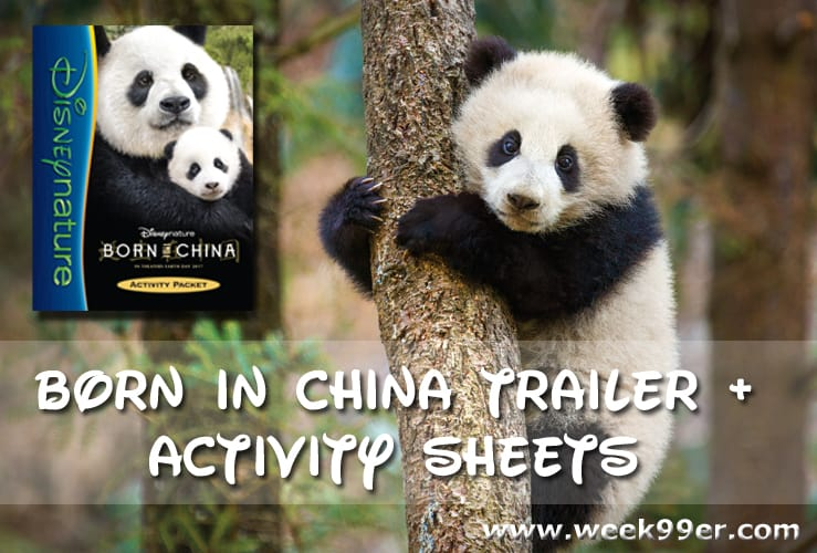 Born in China Activity Sheets and Trailer