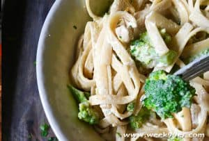 Chicken and Broccoli with a Creamy Alfredo Sauce Recipe