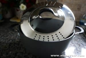 Never Spill Your Food Again with a Circulon Momentum Casserole with Lock 'n' Strain