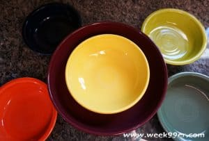 fiesta ware claret review