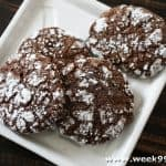 Gluten Free Chocolate Orange Crinkle Cookie Recipe