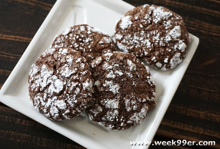 gluten free chocolate orange crinkle cookie recipe