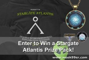 Comet TV Stargate Atlantis Prize Pack Giveaway