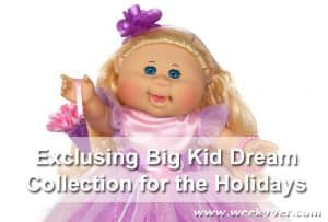 Exclusive Cabbage Patch Dolls for the Holiday Season