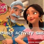 Elena of Avalor: Ready to Rule Printable Activity Sheets