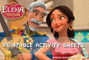 elena of avalor printable coloring sheets
