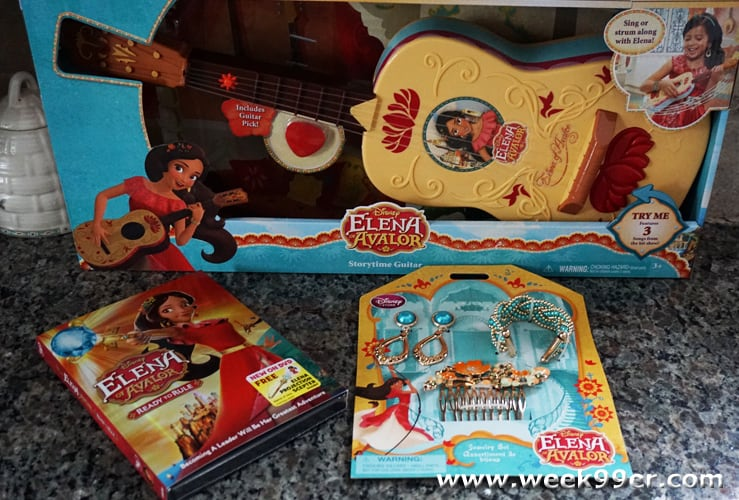 elena of avalor gifts