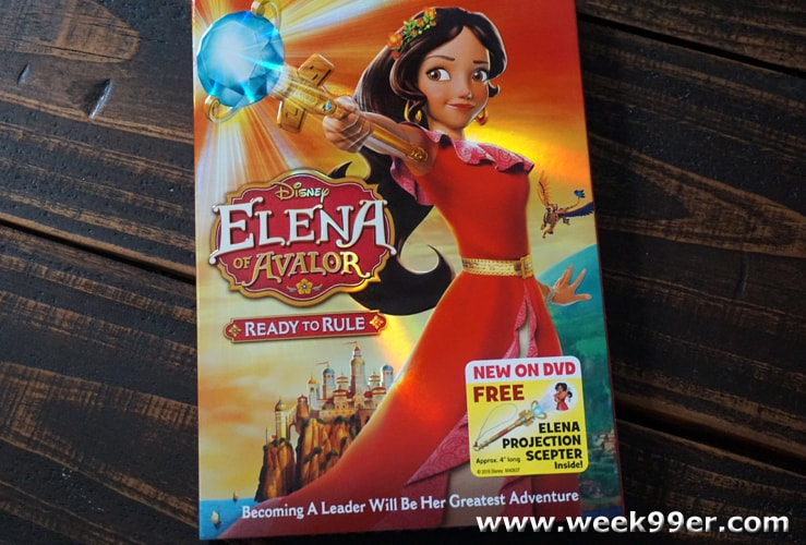 Elena of Avalor Ready to Rule DVD Review