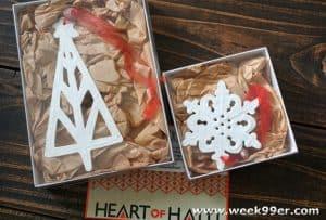 Macy's Heart of Haiti Ornaments