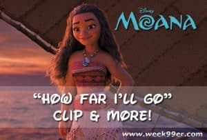 Disney Moana How Far I'll Go Clip and More! #Moana
