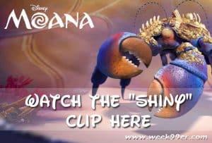 """Watch the Moana """"Shiny"""" Clip Here! #Moana"""
