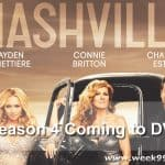 Nashville Season 4 Coming to DVD