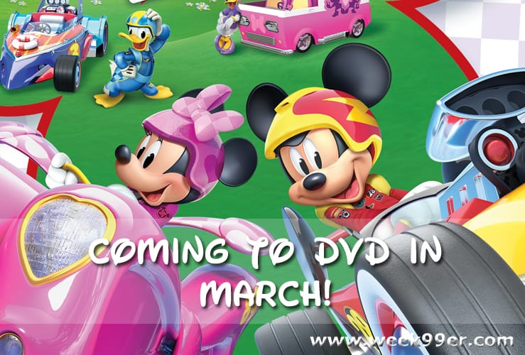 Mickey and The Roadster Racers DVD Release date