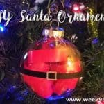 Easy DIY Santa Ornaments