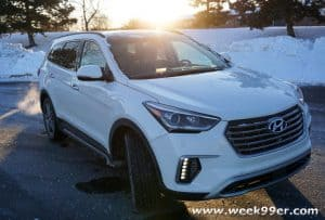 The 2017 Hyundai Santa Fe is Ready for Anything Adventure